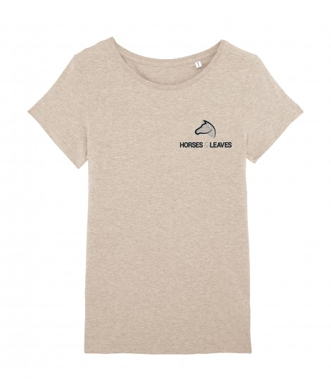 T-shirt « Iconique » beige