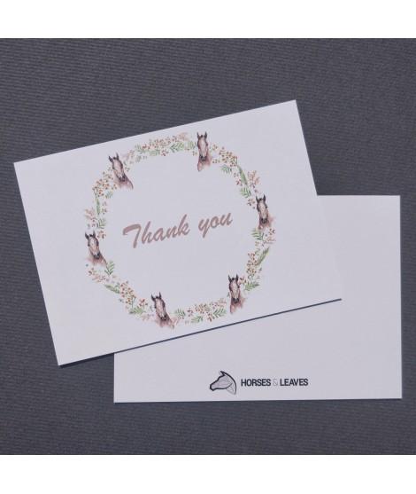 Carte « Thank you »